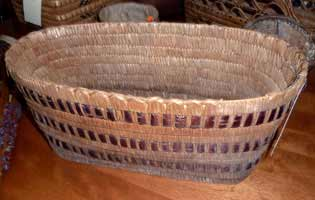 Northwest Coast Salish or Thompson River Salish Basket